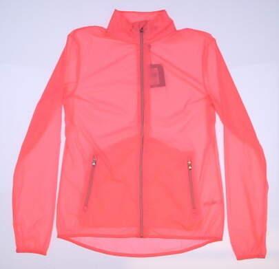 New Womens Ralph Lauren RXL Golf Wind Breaker Large L Pink MSRP $198