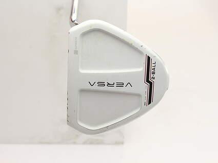 Odyssey Versa 90 2Ball White Blk White Putter Steel Right Handed 32 in