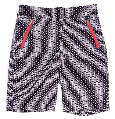 New Womens EP Pro Rittenhouse Golf Shorts Size 8 Navy (Cadet Multi) MSRP $88