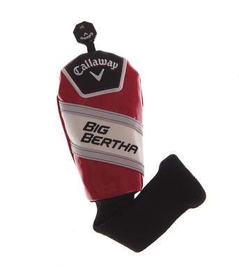 Callaway Big Bertha 2017 OS Hybrid Headcover Red/White/Black