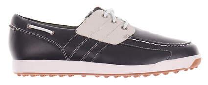 New Mens Golf Shoe Footjoy Contour Casual Medium 11.5 Blue MSRP $140