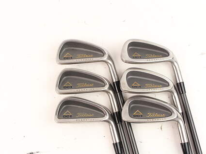 Titleist DCI Senior Oversize Iron Set 5-PW Stock Titleist Select Lite Shaft Graphite Ladies Right Handed 37.25 in