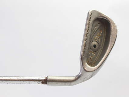 Ping Eye 2 Single Iron 4 Iron Stock Steel Shaft Steel Regular Right Handed Black Dot 38.25 in