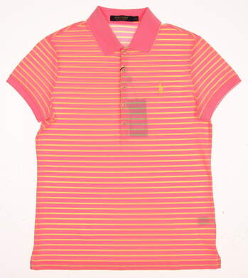 New Womens Ralph Lauren Golf Polo Small S Pink MSRP $63
