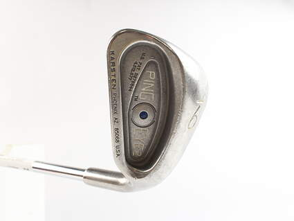 Ping Eye 2 Single Iron 9 Iron Stock Steel Shaft Steel Stiff Right Handed Blue Dot 35.75 in
