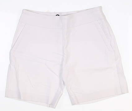 New Womens Footjoy Stretch Twill Golf Shorts Size X-Large XL White MSRP $85
