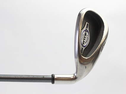 Callaway 2002 Big Bertha Single Iron 9 Iron Callaway RCH 65i Graphite Ladies Right Handed 34.75 in