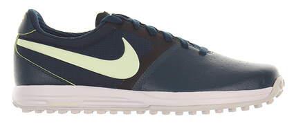 New W/O Box Mens Golf Shoe Nike Lunar Mont Royal 10 Teal MSRP $140