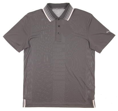 New 2017 Mens Puma Executive Golf Polo Medium M Quiet Shade MSRP $70