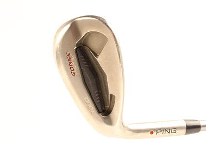 Ping Tour Gorge Wedge Sand SW 56* Standard Sole Ping TFC 189i Graphite Senior Left Handed Red dot 35 in