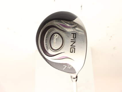 Ping Rhapsody Fairway Wood 7 Wood 7W 26* Ping TFC 129F Graphite Ladies Right Handed 41.75 in