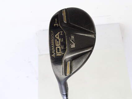 Adams Idea Tech V3 Hybrid 3 Hybrid Adams Mitsubishi Bassara 60 Graphite Regular Left Handed 41.25 in