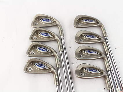 Ping i5 Iron Set 3-PW Ping DGS Steel Stiff Right Handed Green Dot 37.75 in