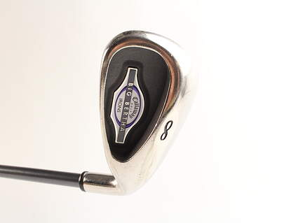 Callaway 2002 Big Bertha Single Iron 8 Iron Callaway Stock Graphite Graphite Ladies Right Handed 35.5 in