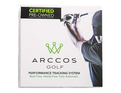 Certified Pre-Owned Arccos Golf Generation 1 14-Piece Performance Tracking System With Quick Start Guide