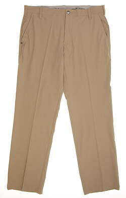 New Mens Adidas Ultimate Fit Golf Pants 34x30 Khaki MSRP $80