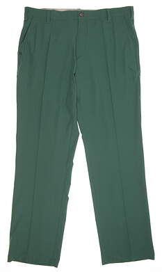 New Mens Adidas Ultimate Fit Golf Pants 36x32 Green MSRP $80