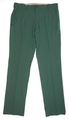 New Mens Adidas Ultimate Fit Golf Pants 34x34 Green MSRP $80