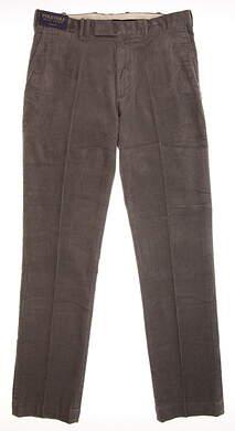 New Mens Ralph Lauren Corduroy Pants 34x34 Gray MSRP $100
