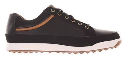 New Mens Golf Shoe Footjoy Contour Series Medium 9 Black MSRP $115 54284