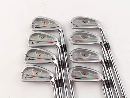 Nike Victory Red Split Cavity Iron Set 3-PW True Temper Dynamic Gold S300 Steel Stiff Right Handed 38 in