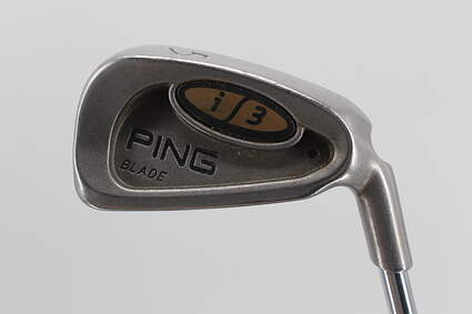 Ping i3 Blade Single Iron 5 Iron Ping Z-Z65 with Cushin Insert Steel Stiff Right Handed 38.75 in