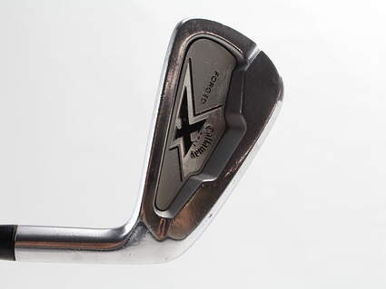 Callaway X Forged Single Iron 6 Iron Project X 6.0 Steel Stiff Right Handed 37.5 in