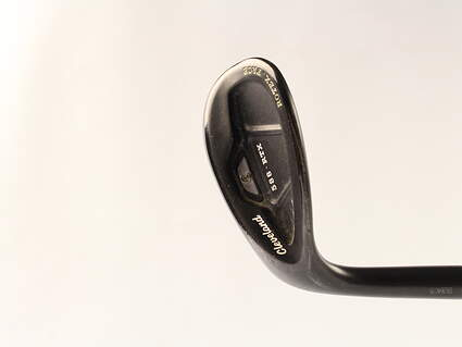 Cleveland 588 RTX CB Black Pearl Wedge Lob LW 58* 12 Deg Bounce Stock Graphite Shaft Graphite Wedge Flex Left Handed 35.5 in