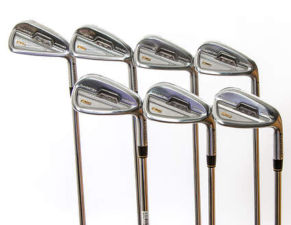 Adams Idea CMB Iron Set 4-PW Project X Flighted 6.0 Steel Stiff Right Handed 38.25 in