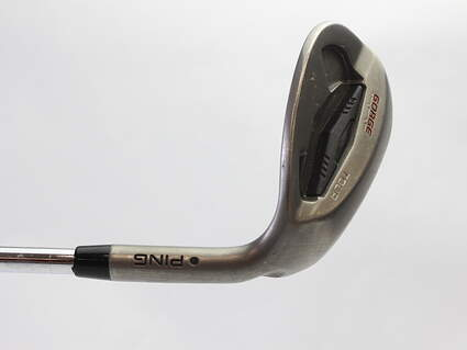 Ping Tour Gorge Wedge Lob LW 60* Ping CFS Steel Stiff Right Handed Black Dot 35.25 in