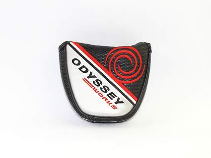 Odyssey Works Versa Mallet Putter Headcover Red/Black/Silver