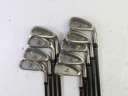 TaylorMade 360 Iron Set 3-PW SW Stock Graphite Shaft Graphite Regular Right Handed 38.25 in