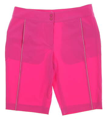 New Womens EP Pro Sport Kasbah Bermuda Golf Shorts Size 6 Razzle Pink MSRP $90