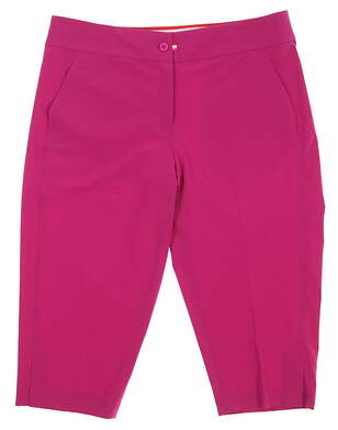 New Womens EP Pro Sport Golf Capris Size 8 Pink MSRP $90