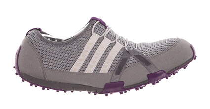 New W/O Box Womens Golf Shoe Adidas Climacool Ballerina 8.5 Gray MSRP $60