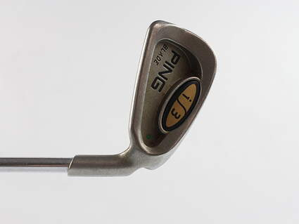 Ping i3 Blade Single Iron 4 Iron Ping Z-Z65 with Cushin Insert Steel Stiff Right Handed Green Dot 38.25 in