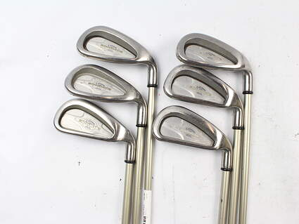 Callaway X-14 Iron Set 5-PW Callaway Gems Steel Ladies Right Handed 37 in
