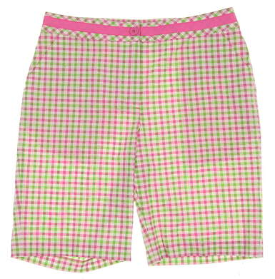New Womens EP Pro Cape May Golf Shorts Size 8 Multi MSRP $75