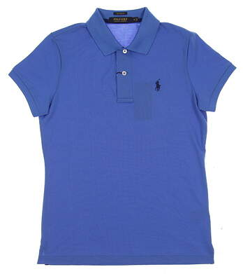 New Womens Ralph Lauren Golf Polo Small S Blue MSRP $89