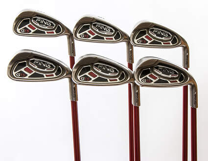 Ping G15 Iron Set 5-PW Ping TFC 149I Graphite Stiff Right Handed White Dot 37.75 in