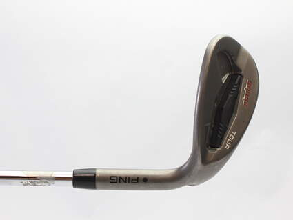 Ping Tour Gorge Wedge Sand SW 54* Wide Sole Ping CFS Steel Stiff Right Handed Black Dot 36 in