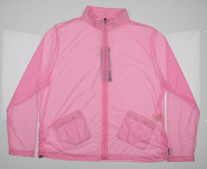 New Womens Jamie Sadock Yum Yum Sunsense Jacket Medium M Pink MSRP $99