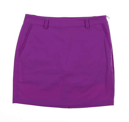New Womens Ralph Lauren Golf Skort Size 6 Purple MSRP $125