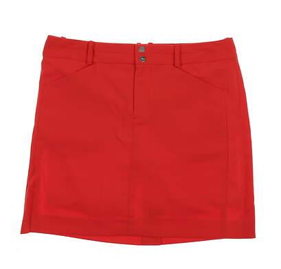 New Womens Ralph Lauren Golf Skort Size 4 Coral Glow MSRP $125