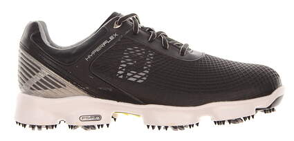 New W/O Box Mens Golf Shoe Footjoy Hyperflex Medium 9 Black MSRP $200