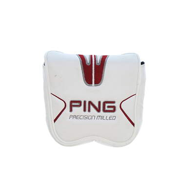 Ping Nanotech Precision Milled Mallet Putter Headcover White/Dark Red