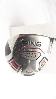 Ping G15 Draw Driver 10.5* Fujikura Fit-On Max 60 Graphite Regular Right Handed 45 in