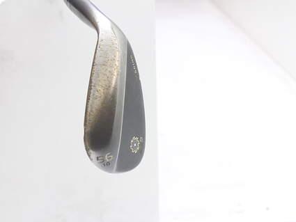 Titleist Vokey SM5 Raw Black Wedge Sand SW 56* 10 Deg Bounce M Grind Titleist SM5 BV Steel Wedge Flex Right Handed 35.25 in