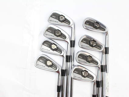 TaylorMade 2011 Tour Preferred MC Iron Set 3-PW True Temper Dynamic Gold S300 Steel Stiff Right Handed 37.75 in