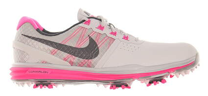 New Womens Golf Shoe Nike Lunar Control 6.5 Gray/Pink MSRP $120